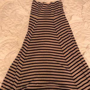 Gap Striped Maxi